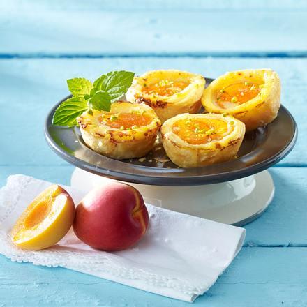 Aprikosen-Törtchen Rezept