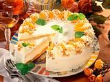 Aprikosen-Torte mit Likör-Crème fraîche Rezept