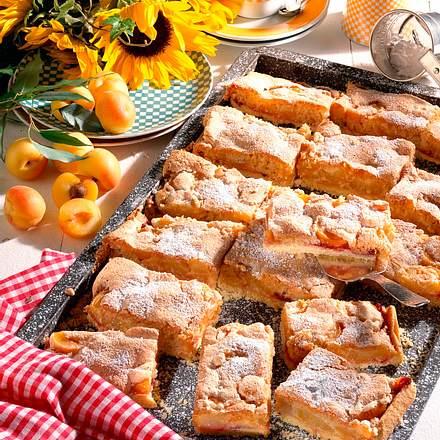Aprikosen-Weißbrotkuchen Rezept