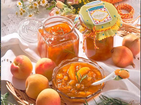 Aprikosen-Zwiebel-Chutney Rezept
