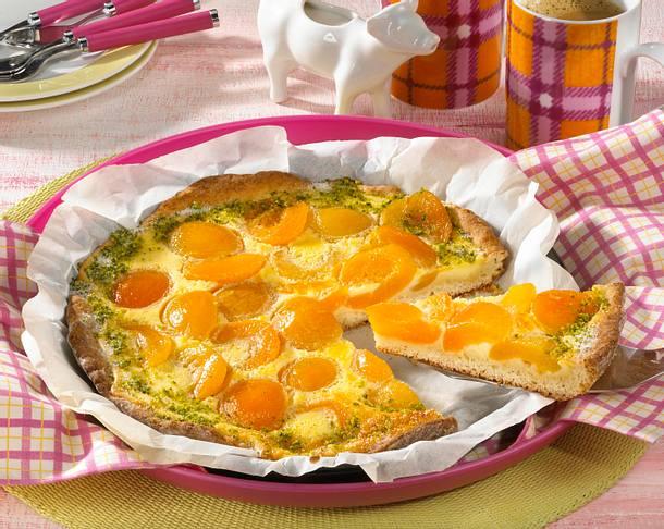 Aprikosenwähe (Diabetiker) Rezept