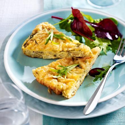 Artischocken-Omelett Rezept