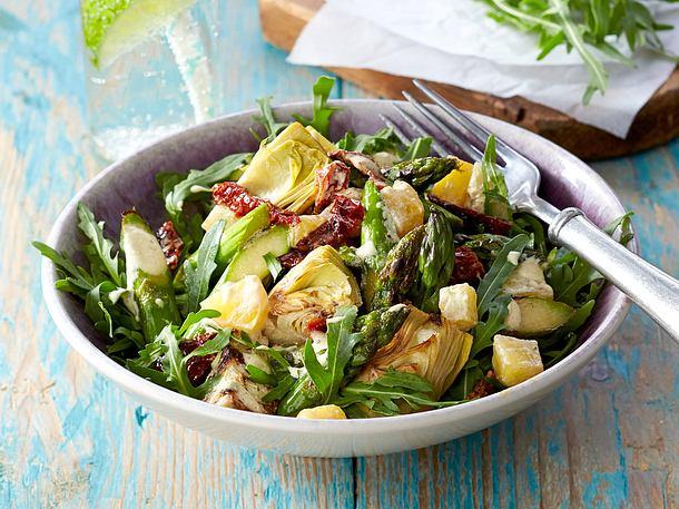 Artischocken-Spargel-Gemüse Rezept