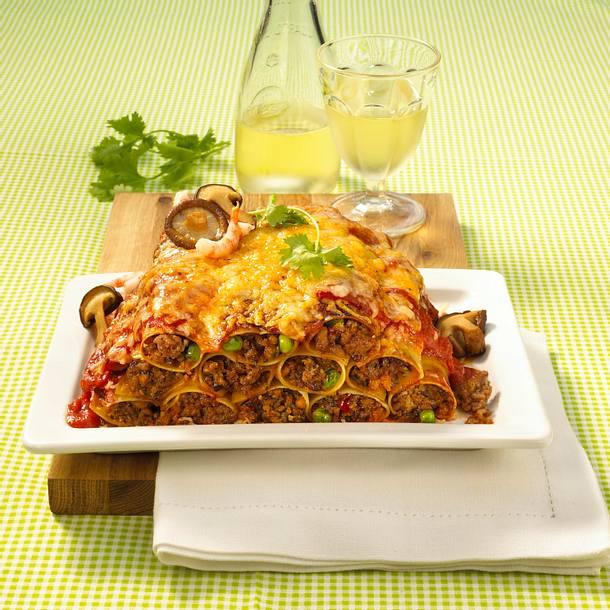 Asia-Cannelloni Rezept