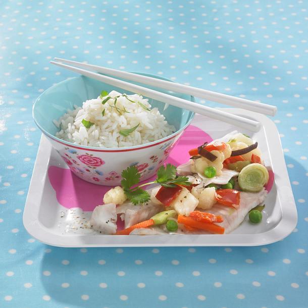 Asia-Fisch-Päckchen (Diät) Rezept