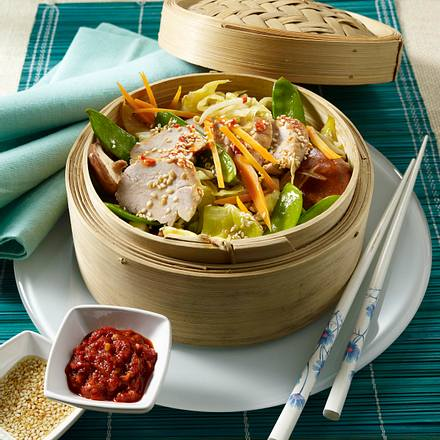 Asia-Gemüse mit Schweinefilet Rezept