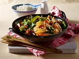 Asia-Hähnchen-Pfanne Rezept