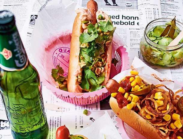 Asia-Hotdog Rezept