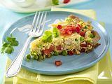 Asia-Omelett mit Schnitzelstreifen Rezept