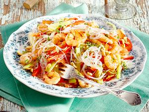 Asia-Sommerrollen-Salat Rezept
