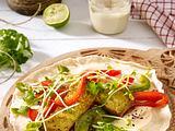 Asia-Tofu-Wraps Rezept