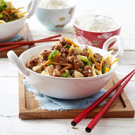 Asiapfanne mit Bambus & Gemüse Rezept