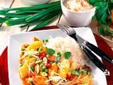 Asiatische Hähnchen-Pfanne Rezept