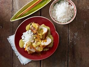 Asiatische Hähnchenrouladen Rezept
