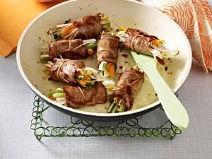 Asiatische Roastbeef-Röllchen Rezept