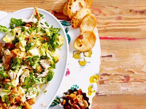 Asiatischer Caesar Salad Rezept