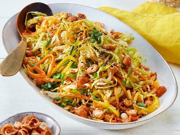 Asiatischer Mango-Krautsalat Rezept