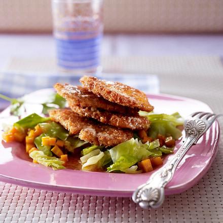 asiatisches h hnchenschnitzel mit spitzkohl gem se rezept chefkoch rezepte auf. Black Bedroom Furniture Sets. Home Design Ideas