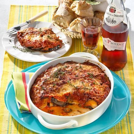 Aubergine à la Tomate Rezept