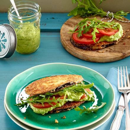 Auberginen-Sandwich Rezept