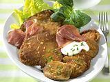 Austernpilze in Parmesan-Kruste  Rezept