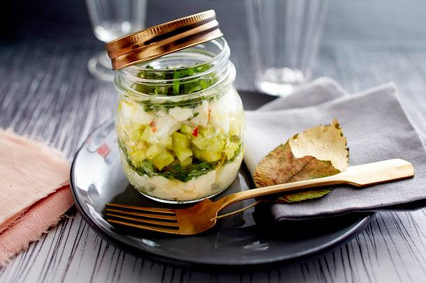 Avocado-Apfel-Tatar Rezept