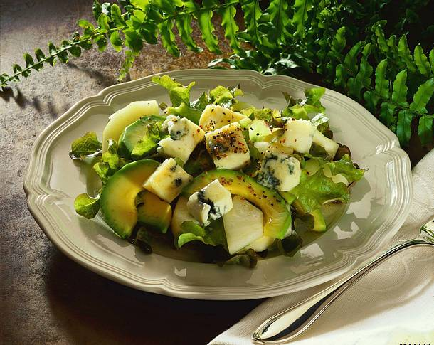 Avocado-Birnen-Salat Rezept