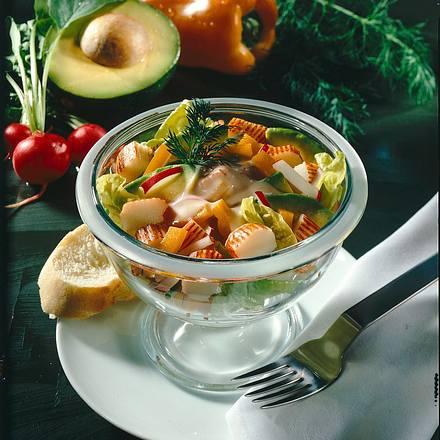 Avocado-Fisch-Cocktail Rezept