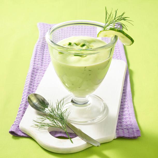 Avocado-Gurken-Buttermilch-Drink Rezept