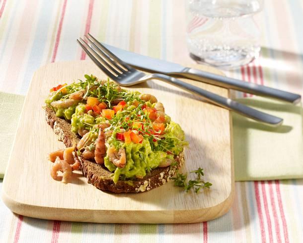 Avocado-Krabben-Brot Rezept