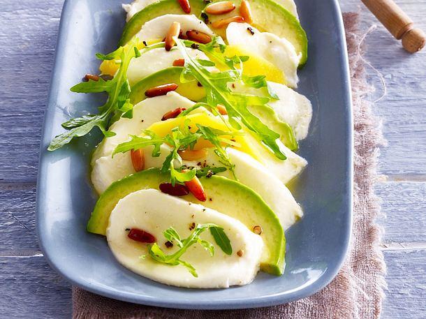 Avocado-Mango Caprese-F8764401