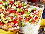 Avocado-Pizza Rezept