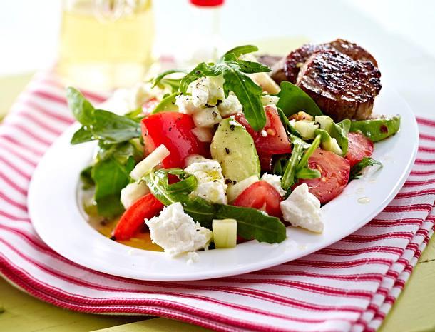 avocado salat schweinemedaillons rezept chefkoch rezepte auf kochen backen und. Black Bedroom Furniture Sets. Home Design Ideas