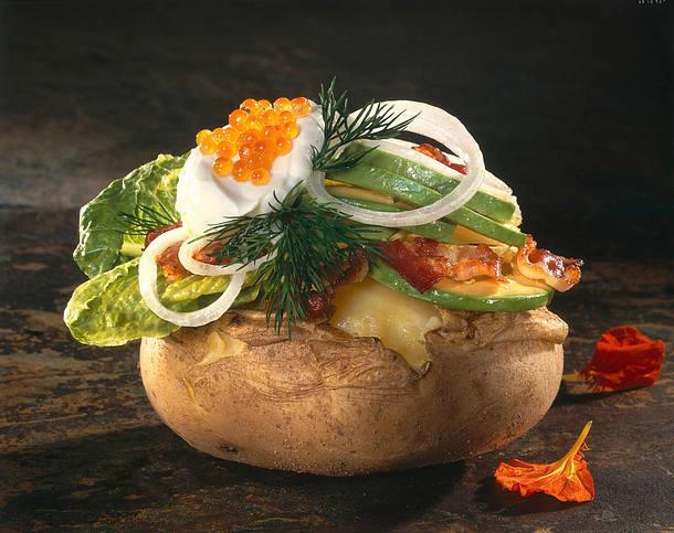 Avocado-Speck-Kartoffel Rezept