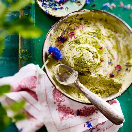 Avokado-Kokos-Limetteneis Rezept