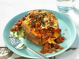 Backkartoffel à la Bolognese Rezept