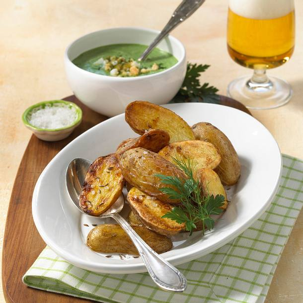 Backofenkartoffel mit Frankfurter Grüner Soße Rezept