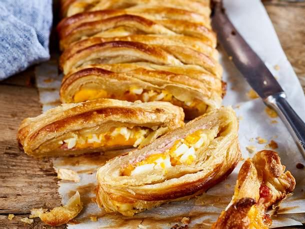 Bacon-Käse-Zopf Rezept