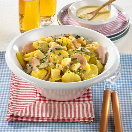 Badischer Kartoffel-Wurstsalat Rezept