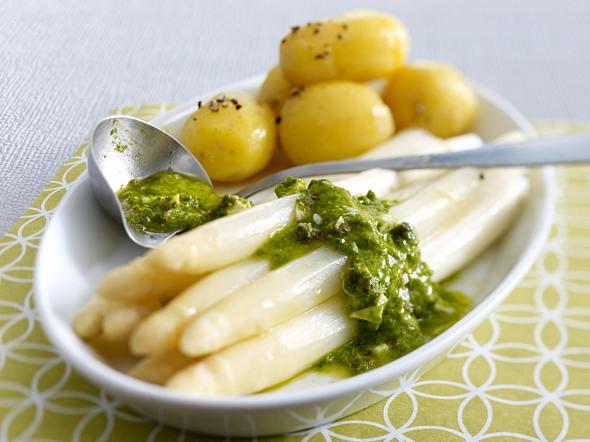 Bärlauch-Gribiche zu Spargel & neuen Kartoffeln Rezept