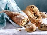 Baguette, Brötchen und Fladenbrot aus Evas Drei-Tage-Teig Rezept