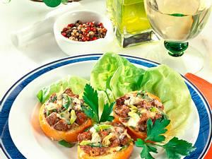 Baguette mit Geflügelleber Rezept