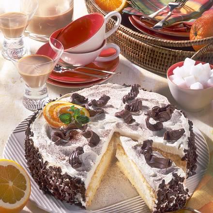 Baileys-Mascarpone-Torte Rezept