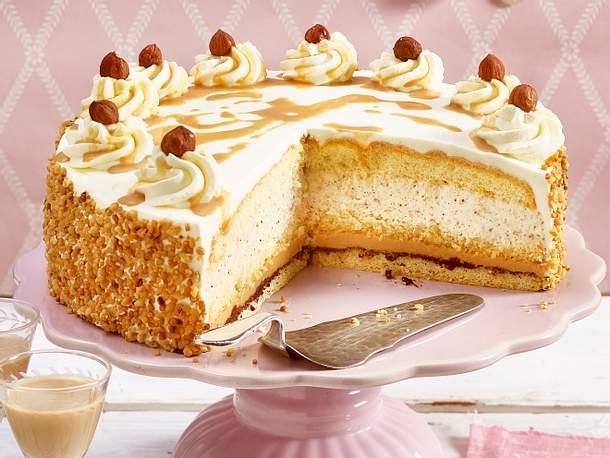 Baileys-Torte mit Nüssen | LECKER