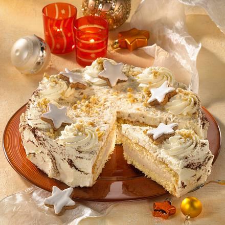 Baileys-Zimtsahne-Torte Rezept