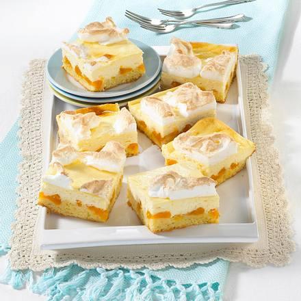 Baiser-Käsekuchen mit Mandarinen Rezept