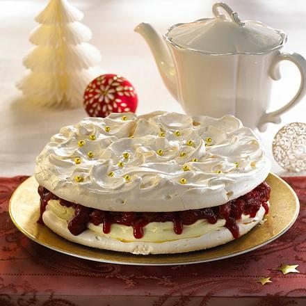 Baiser-Kirsch-Torte Rezept