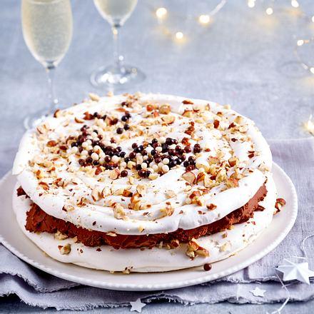 Baiser-Schokoladen-Torte Rezept