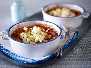 Baked Beans mediterrane Art Rezept