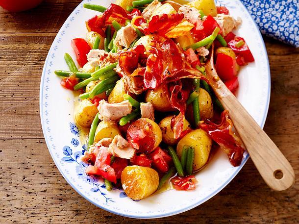 Baked-Potatoe-Salat mit Thunfisch Rezept